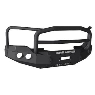 Road Armor Stealth Base Front Bumper With Lonestar Guard 2011 Ford Super Duty 431325