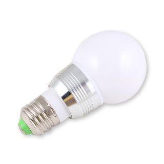 E27 3W 110V 85V 265V 16 colors changing LED RGB Bulb Light Lamp + Remote Control   Led Household Light Bulbs