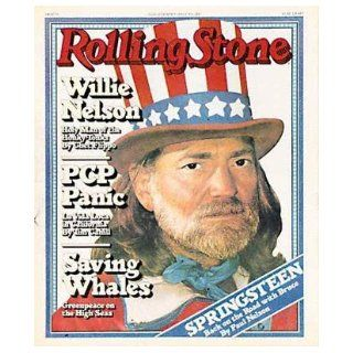 Rolling Stone Magazine # 269 July 13 1978 Willie Nelson (Single Back Issue) Rolling Stone Books