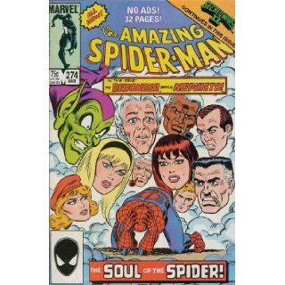 The Amazing Spider man #274 (Vol. 1) Tom DeFalco, Ron Frenz, Tom Morgan, Jim Fry, Jack Fury Books