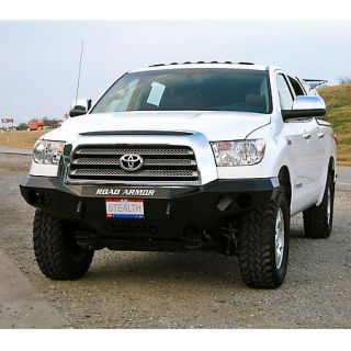 Road Armor Stealth Base Front Bumper 2007 2010 Toyota Tundra 431386