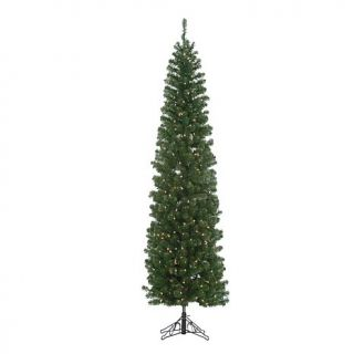 Kurt Adler 7 Foot Pre Lit LED Winchester Pine Pencil Tree