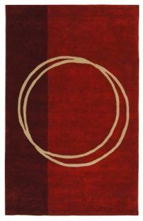 Safavieh Rodeo Drive Collection RD624A Handmade Red and Ivory Wool Area Rug, 5 Feet by 8 Feet   Runners