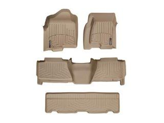 2000 2006 Chevrolet Tahoe Tan WeatherTech Floor Liner (Full Set) Automotive