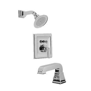 American Standard T555.502.295 Town Square Bath/Shower Trim Kits Only, Satin Nickel   Single Handle Tub And Shower Faucets