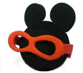 Black Mickey Classic Silhouette w/ Shades Car Truck SUV Antenna Topper Automotive
