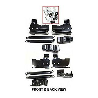 GMC FORD SIERRA PICKUP/ CHEVY SILVERADO 03 06 FRONT BUMPER BRACKET SET Automotive