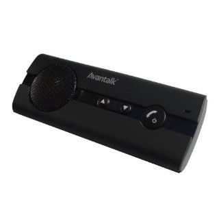 Avantalk BTCK 10b black Multipoint Bluetooth wireless Speaker phone handsfree car kit with ONLINE Support, support Nokia, Sony Ericcson, Sumsung, LG, HTC, Palm, Blackberry, iPhone, etc, any Bluetooth enable devices. Cell Phones & Accessories