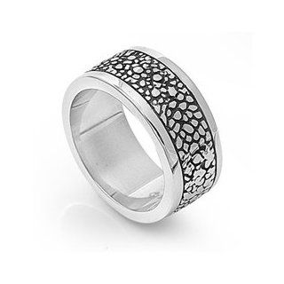 316L Stainless Steel Triple Cross Ring   Stainless Steel Biker Cross Rings for Men Jewelry