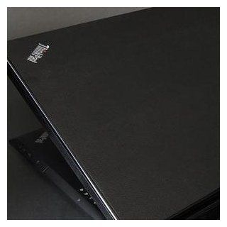 IBM ThinkPad SL500 Laptop Cover Skin [Deep Black Leather] Electronics