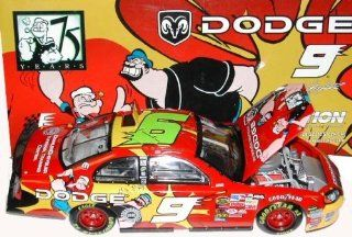 Car Bank Kasey Kahne #9 Popeye Popeye's 75th Anniversary Special Paint Scheme Opening Hood Action Racing Collectibles ARC 1/24th Scale Limited Edition Only 324 Produced Toys & Games