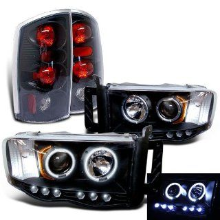 Rxmotoring Dodge Ram 1500 Headlights Projector + Tail Light Automotive