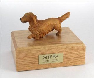 Shop Dachshund Dog Figurine Pet Cremation Urn   328 at the  Home D�cor Store. Find the latest styles with the lowest prices from