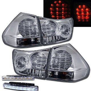 2004 2006 LEXUS RX330 07 08 RX350 TAIL LIGHTS REAR BRAKE LAMPS + LED FOG RUNNING Automotive