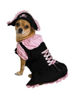 Halloween Costumes Item   Cat & Dog Costume Pink Pirate Medium Clothing