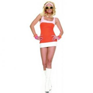 Sexy Mod Girl Halloween Costume Medium/Large 7 10 Adult Sized Costumes Clothing