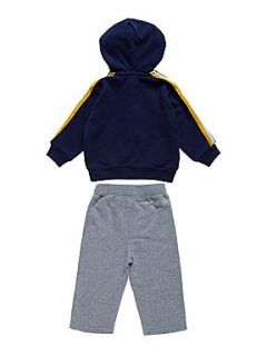 Polo Ralph Lauren Baby boy`s hooded top and sweat pant set Navy