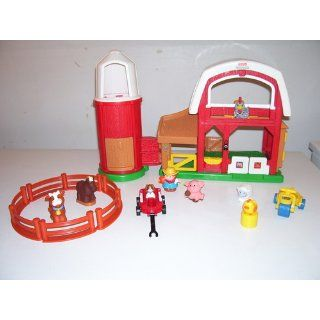 Fisher Price Little People Animal Sounds Farm Toys & Games