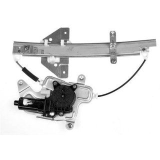 Dorman 741 816 Oldsmobile/Pontiac Rear Driver Side Window Regulator with Motor Automotive