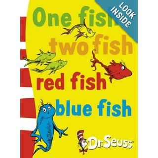 One Fish, Two Fish, Red Fish, Blue Fish (Dr.Seuss Board Books) Dr. Seuss 9780007158553 Books