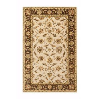 Old London Area Rug, 3'x5', BEIGE   Hand Tufted Rugs