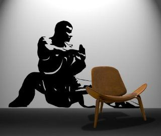 Vinyl Wall Decal Sticker Chinese Kung Fu Master Martial Arts #370   Other Products