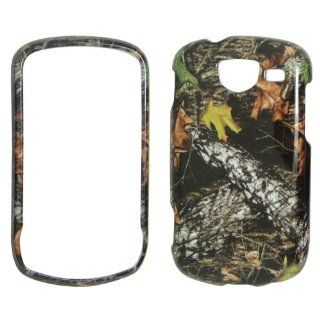 Samsung Brightside U380 Verizon   Camo Camouflage Leaves and Branches Shinny Gloss Finish Hard Plastic Cover, Case, Easy Snap On, Faceplate. Cell Phones & Accessories