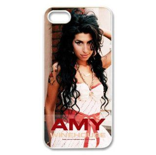 Iphone5/5S cover Amy Winehouse Hard Silicone Case Cell Phones & Accessories