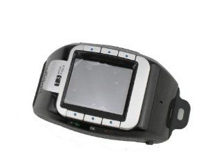 black New N388 GSM Quadband Voice Dialing Watch Cell Phone Unlocked touch screen Cell Phones & Accessories