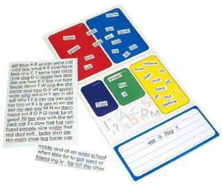 Sight Words & Sentences Magnetic Learning Board Toys & Games