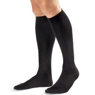 Jobst for Men Compression Dress Socks 8 15 mmHg   Brown   Large   110780110790 Health & Personal Care