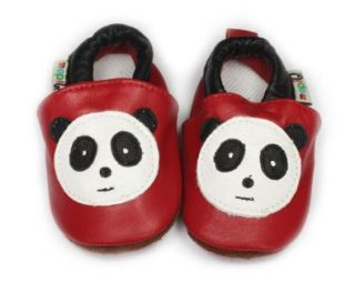Cute Leather Soft sole Infant Toddler Baby Shoes 6 12m Panda Shoes