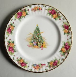 Royal Albert Christmas Magic Dinner Plate, Fine China Dinnerware   Christmas Tre