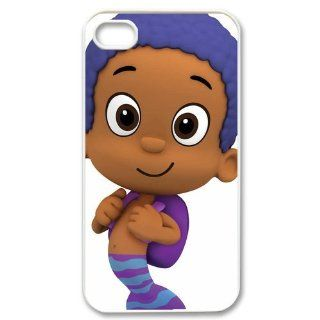 Custom Bubble Guppies Cover Case for iPhone 4 4s LS4 1212 Cell Phones & Accessories