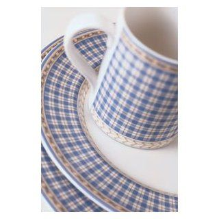 Royal Doulton Provence Bleu 4 Piece Dinnerware Place Setting Kitchen & Dining