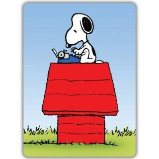 "Snoopy typing car bumper sticker decal 3"" x 6"" Automotive"