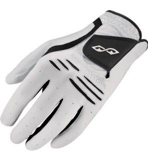 Snake Eyes Mens Leather Golf Glove( COLOR Black )  Sports & Outdoors