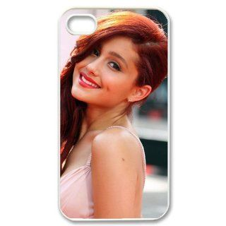 Custom Ariana Grande Cover Case for iPhone 4 WX174 Cell Phones & Accessories