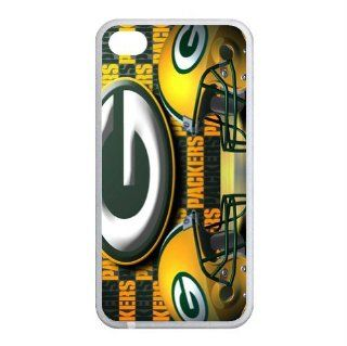 B2CSELLER Premium Customized the North Division of the National Football Conference (NFC) in the National Football League (NFL) Green Bay Packers fit flexible TPU Case Cover for Iphone4/4S Cell Phones & Accessories