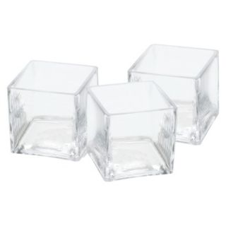 Glass Vase Wedding Centerpieces (Set of 3)