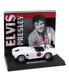 Franklin Mint 1/24 Elvis Presley's Spinout 1965 Shelby Cobra 427 S/C With Dis Toys & Games