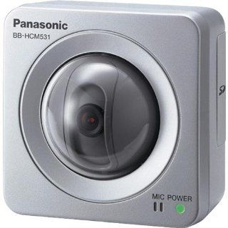 Panasonic BB HCM531A Outdoor Pan/Tilt PoE Security Network Camera (Silver)  Surveillance Cameras  Camera & Photo