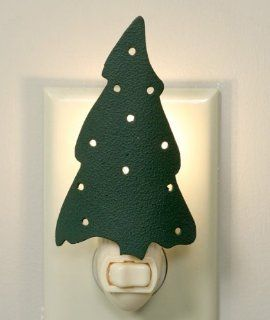 Green Christmas tree night light with switch and wall plug in.   Night Light Horse Lamp Rocking Projector