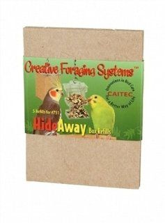Creative Foraging Systems+E487 CFS Refills Box Feeder for Pets  Pet Bird Feeders