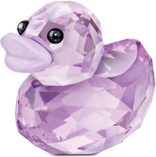 Swarovski Happy Duck Figurine, Lovely Lucy   Collectible Figurines