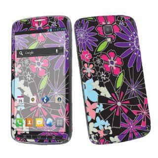 Samsung Galaxy S4 Active SGH i537 (AT&T) Vinyl Skin Decal Sticker   Flower Mix By SkinGuardz Cell Phones & Accessories