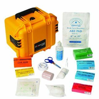 North Waterproof Marine First Aid Kit, Small, Yellow, Plastic,   Workplace First Aid Kits