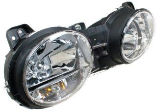 OES Genuine Jaguar S Type Replacement Driver Side Headlight Assembly Automotive