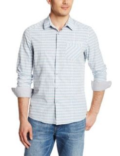 Kenneth Cole New York Men's Long Sleeve Shirt with Piping at  Men�s Clothing store