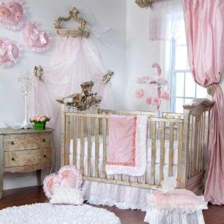 Anastasia 3 Piece Baby Crib Bedding Set by Glenna Jean  Floral Baby Bedding  Baby